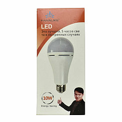 LED лампочка Fanalike (with battery 5 hours) E27, 10W, 6500К