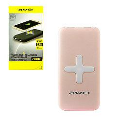 Power bank Awei PK98K 7000 mAh 2XUSB Pink