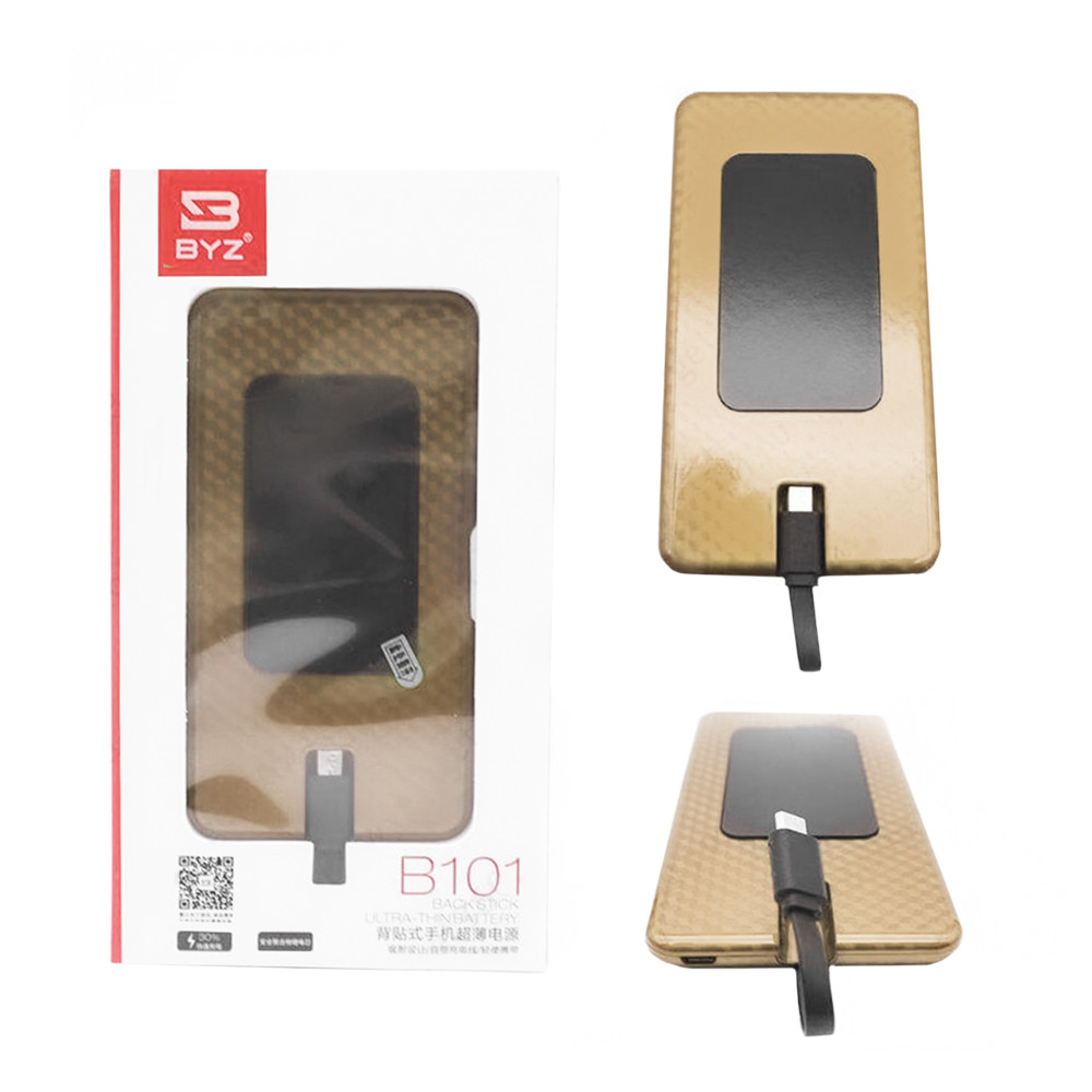 Power Bank BYZ B101 Lightning 5000mAh Gold