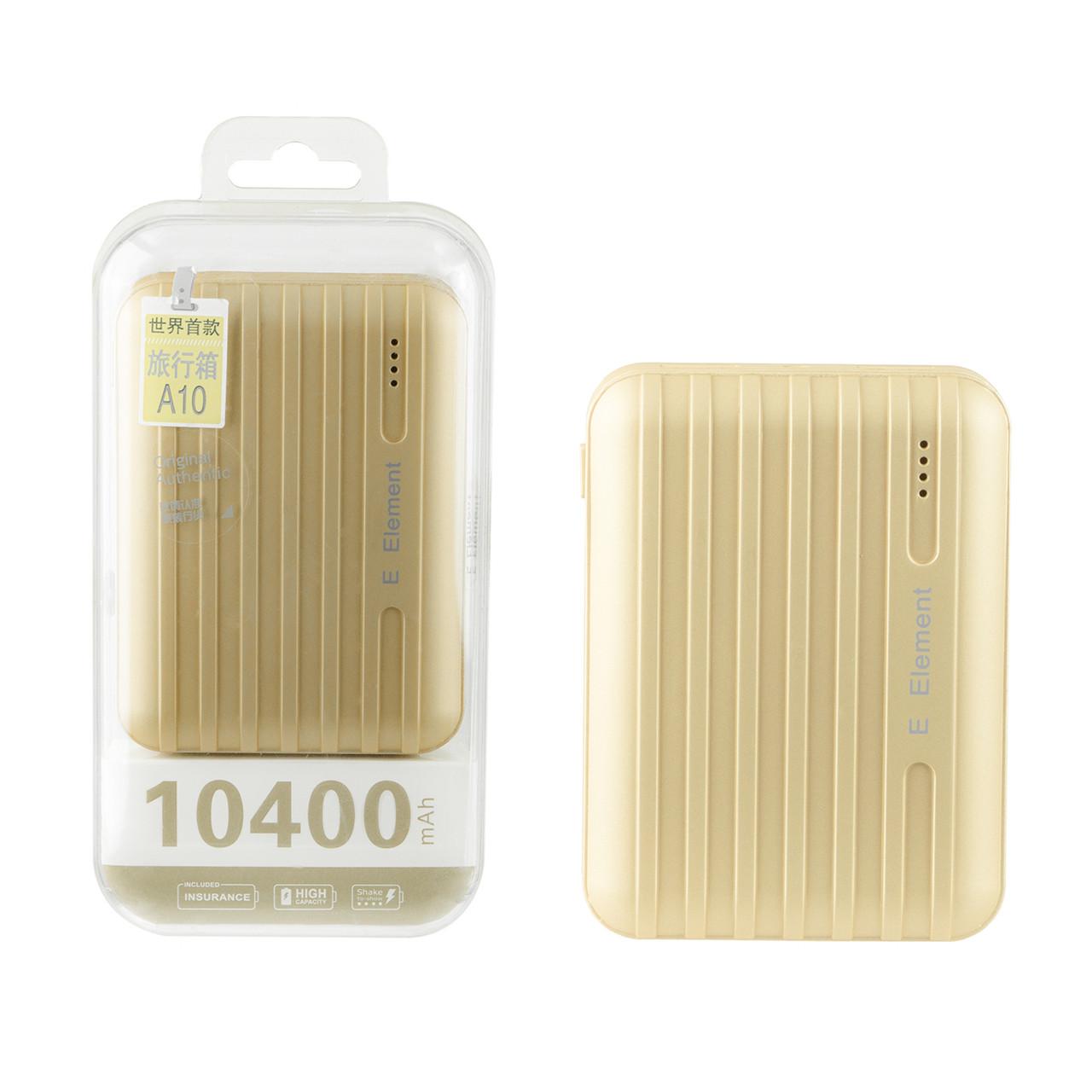 Power bank E Element A10 10400mAh 2XUSB Gold