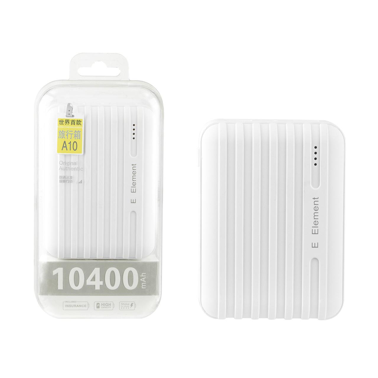 Power bank E Element A10 10400mAh 2XUSB White
