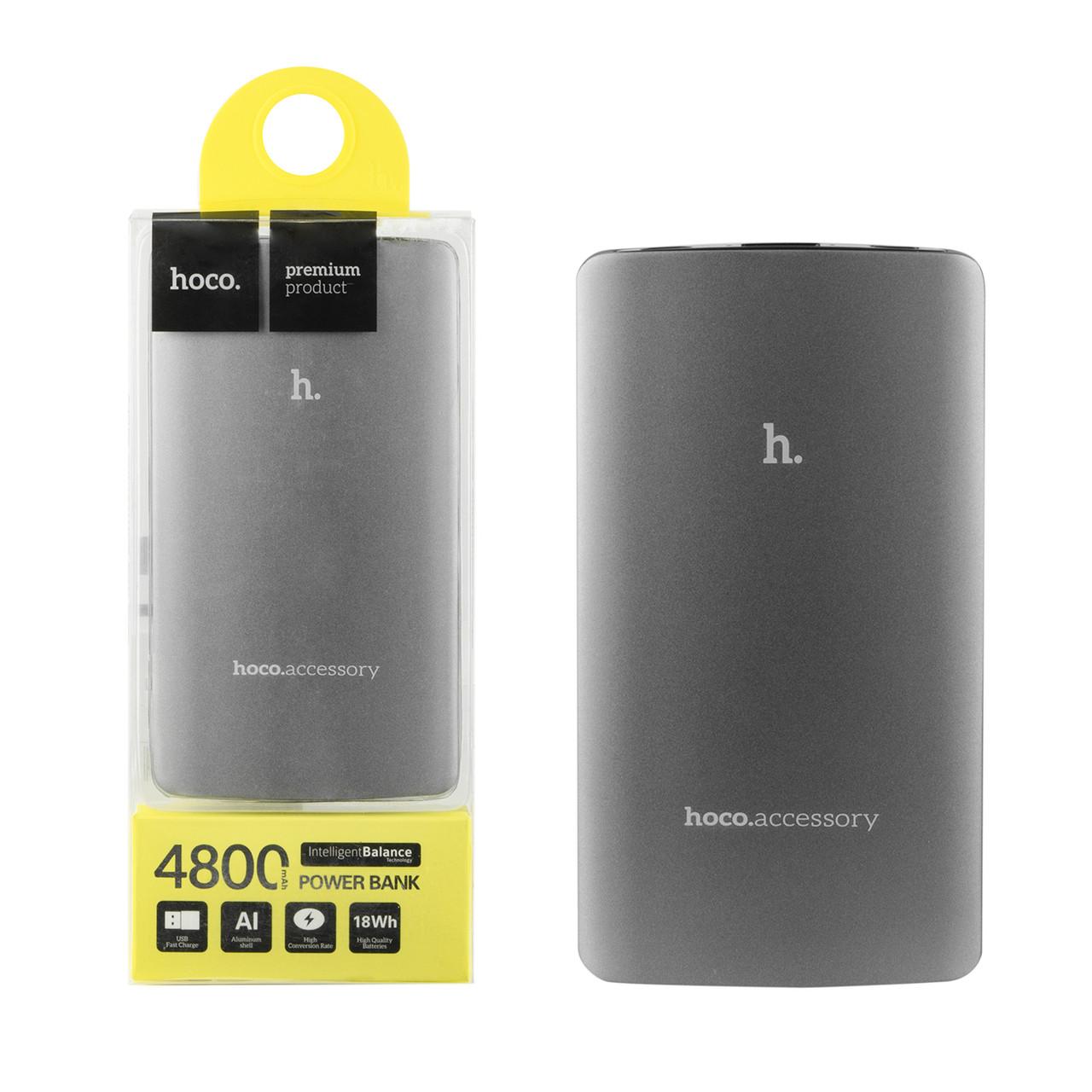 Power bank Hoco UPB03 4800mAh 1XUSB Gray