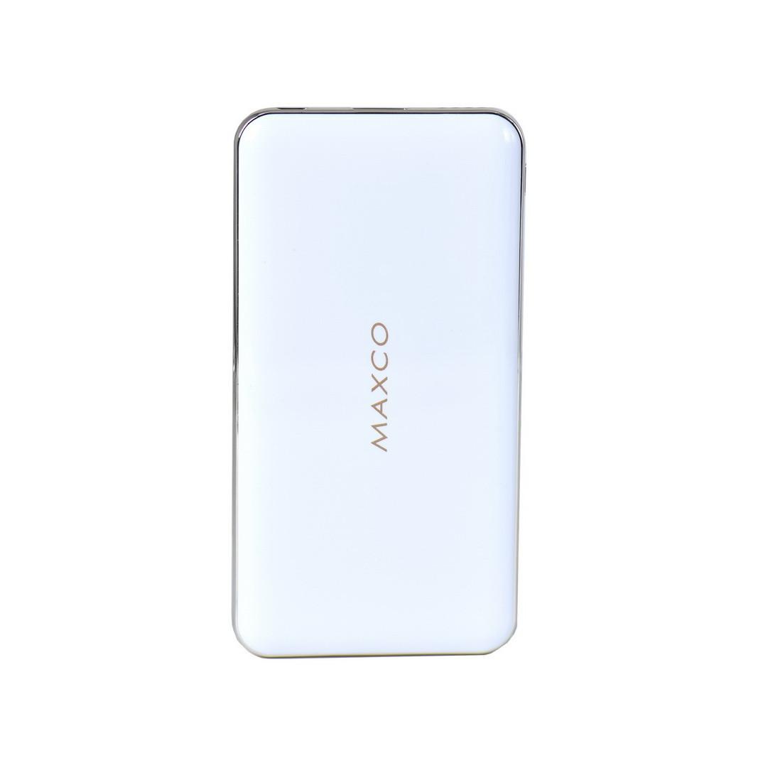 Power bank Maxco Razor 8000mAh 1XUSB 5V-2.1A White/Gold