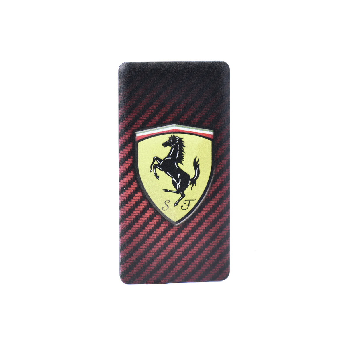 Power bank V84 Ferrari S F 4800mAh 1XUSB carbon Black/Red