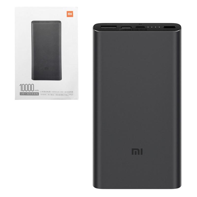 Power Bank Xiaomi Mi Power Bank 3 10000mAh, (PLM12ZM) Black