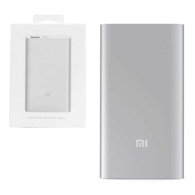 Power Bank Xiaomi Mi Power Bank 5000mAh (PLM10ZM) Silver