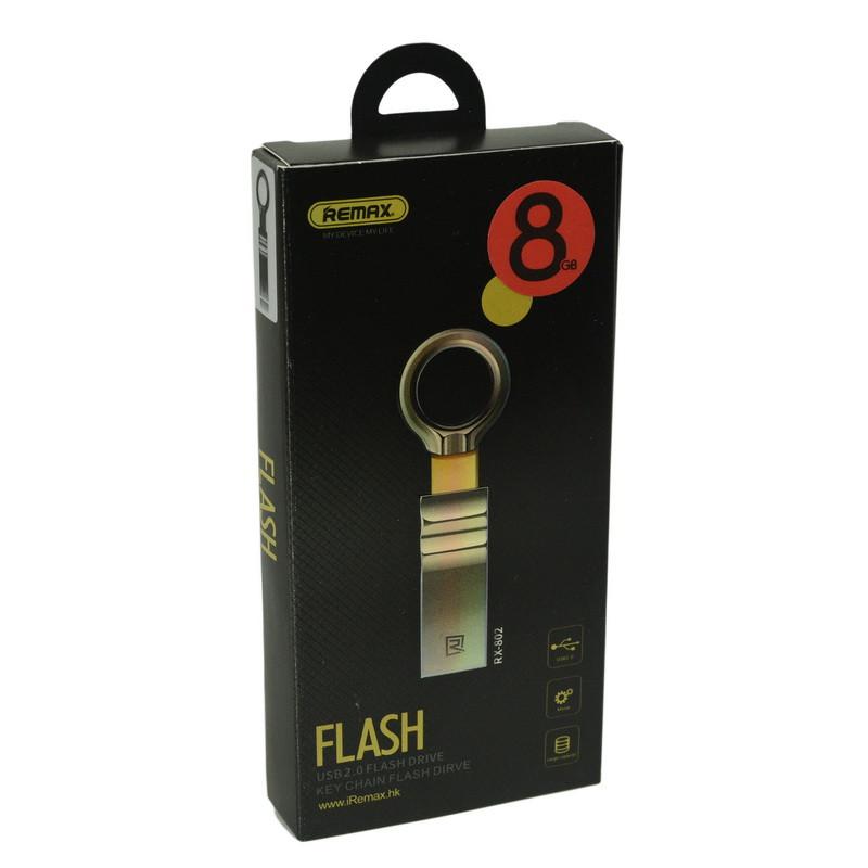 USB Flash 8Gb Remax RX-802 USB 2.0 Black