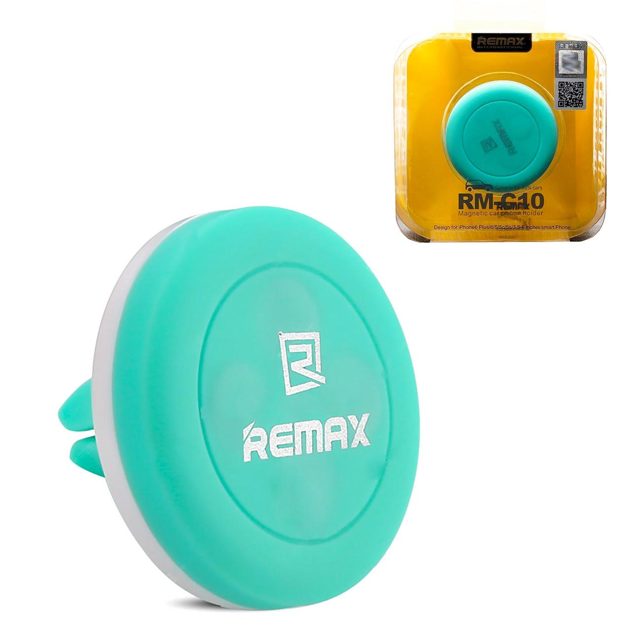 Автодержатель Remax RM-C10 Magnetic Blue/White