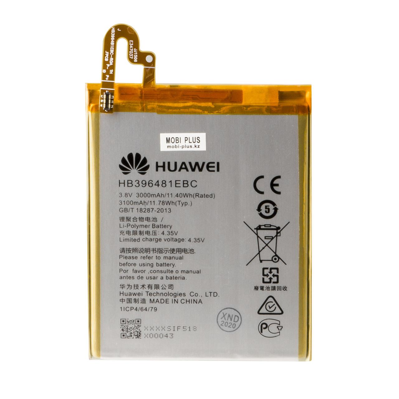 Аккумулятор Huawei HB396481EBC Honor 5X,Honor 6 LTE, H60 L12 3000mAh GU Electronics