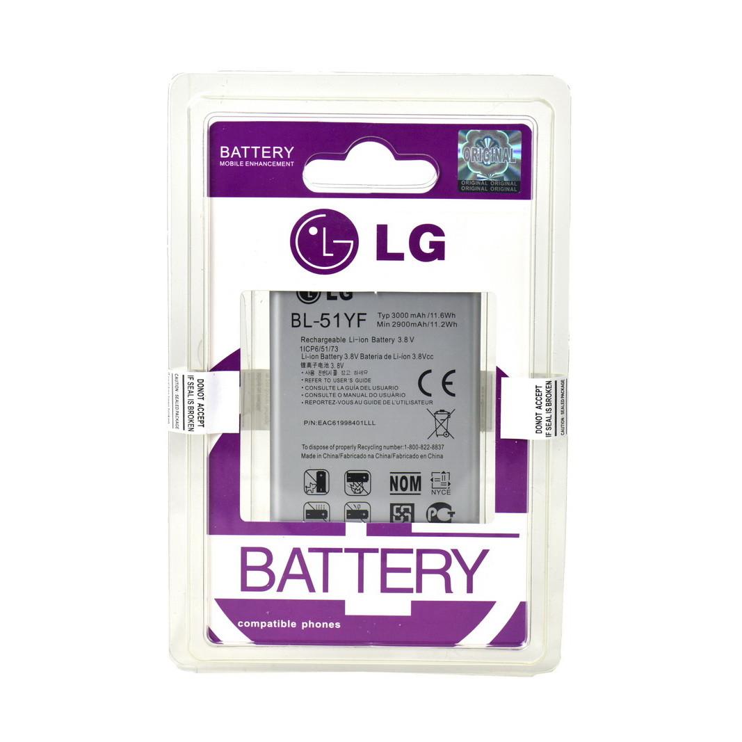 Аккумулятор LG BL-51YF G4/H815/H818/X190 3000mAh Plastic Box
