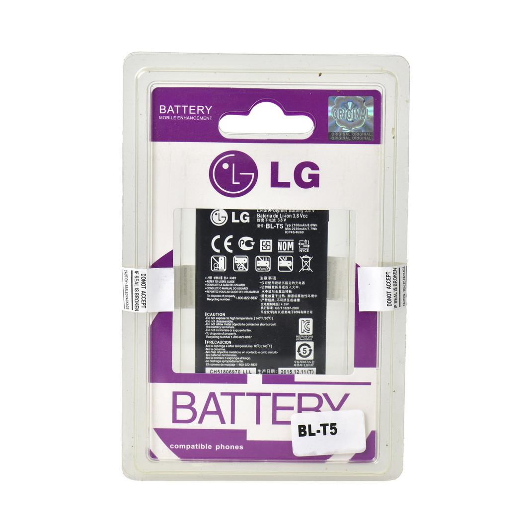 Аккумулятор LG BL-T5 E960/E970/E973/E975/Nexus 4 2100 mAh Plastic box