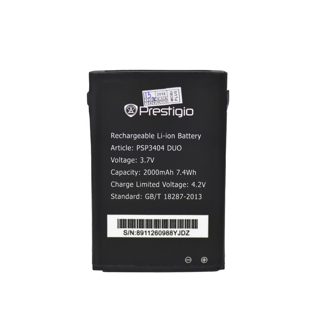 Аккумулятор Prestigio PSP3404 DUO 2000 mAh Original OEM
