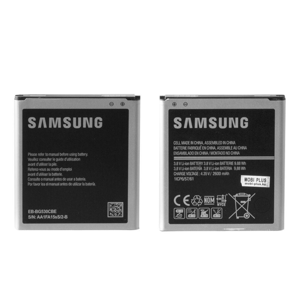 Аккумулятор Samsung Galaxy G530 J500/J320/J2 Prime EB-BG530CBE 2600mAh GU Electronic