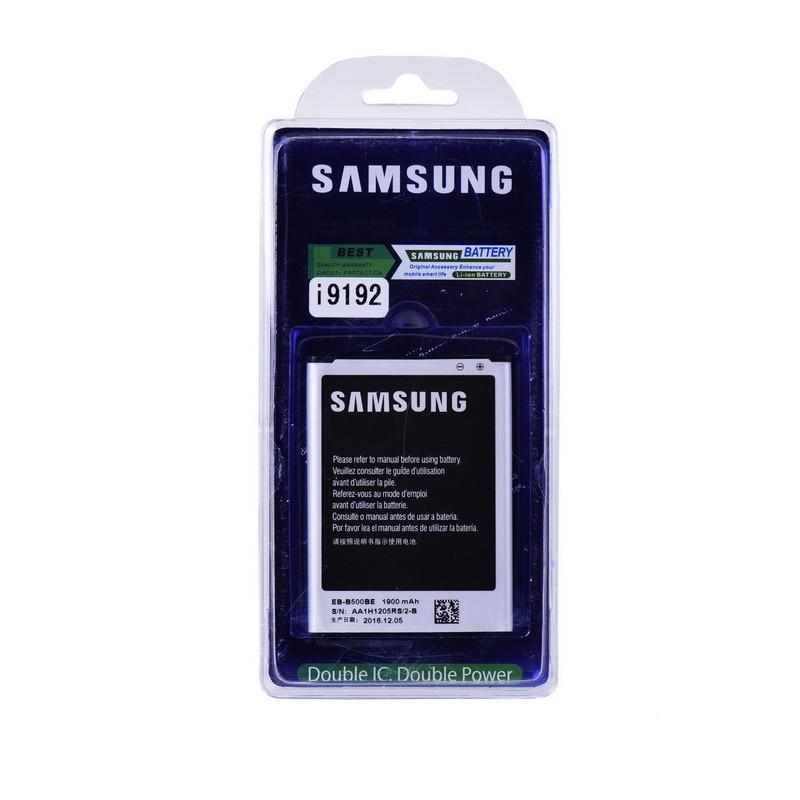 Аккумулятор Samsung Galaxy S4 mini 9192/i9190 EB-B500BE 1900mAh Original Double IC plastic box