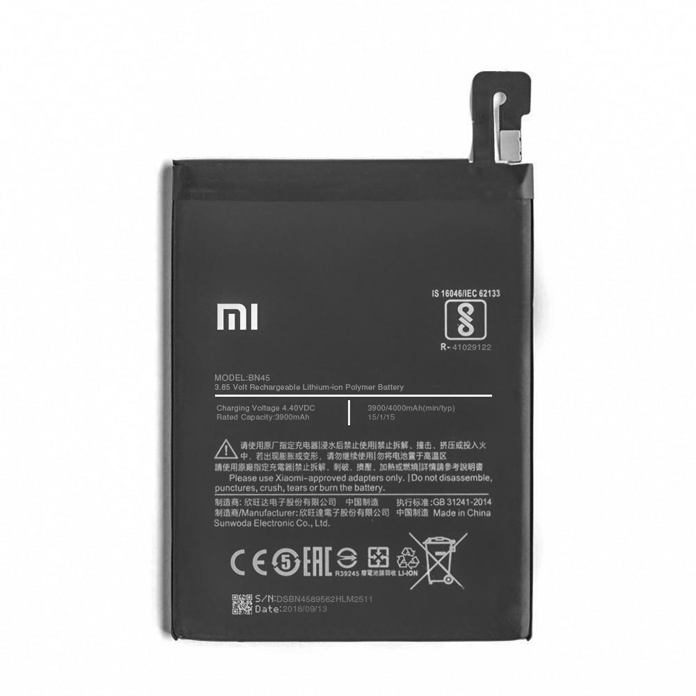 Аккумулятор Xiaomi BN45 Redmi Note 5 4000mAh OEM