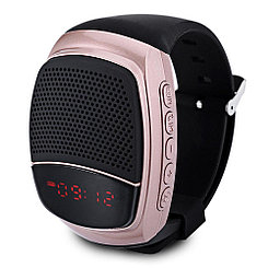 Акустическая система часы Yuhai sport music Bluetooth B90 Brown