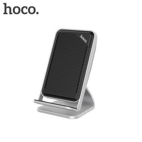 Беспроводное зарядное устройство Hoco CW11 Wisewind Wireless Rapid Charger 10W Silver/Black