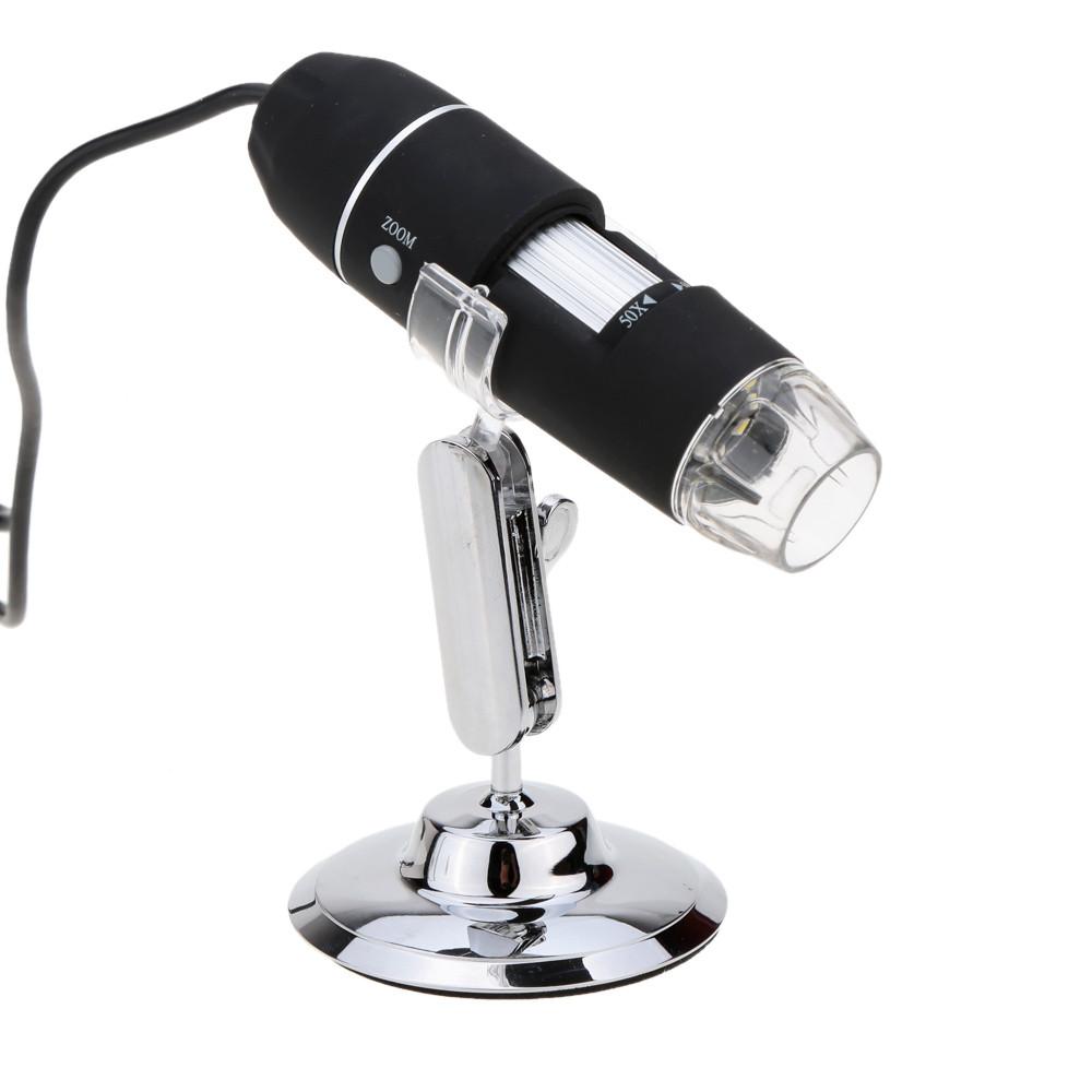 Видеомикроскоп USB 20MP 500X 30FPS Black