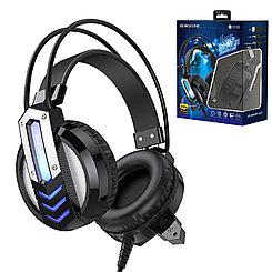 Гарнитура Borofon BO100 Game Headphones Led Ambient Light, Black