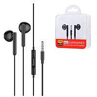 Гарнитура Hoco M64 Stereo Earphones, Black