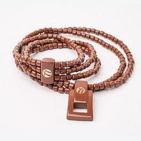 Турманиевый браслет нуга бест и ожерелье