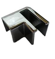 Уголок DG-2 стыковочный профиль-стекло. Правый| FGD-272.1 | Хром