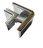 Уголок DG4 стыковочный стекло-стекло| FGD-272.3 | Хром