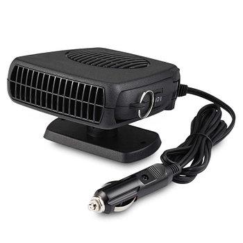 Автомобильный вентилятор с обогревом 12V Auto Heater Fan (вентилятор 12в)