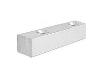 Профиль DG-6 упор для крепления магнитного и уплотнительного профиля к стене, L-2000 мм. | FGD-87.1 | Алюминий, фото 1