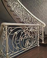 Перила на лестницу кованые. Алматы. Ворота,решетки.