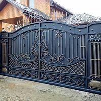 Ворота кованые на заказ. Алматы