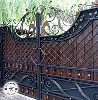 Ворота кованые. Перила и решетки на заказ в Алматы