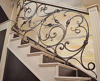 Кованные ворота орнаментом в Алматы
