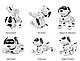 Интерактивный робот Smart Robot Dog K16A, фото 4
