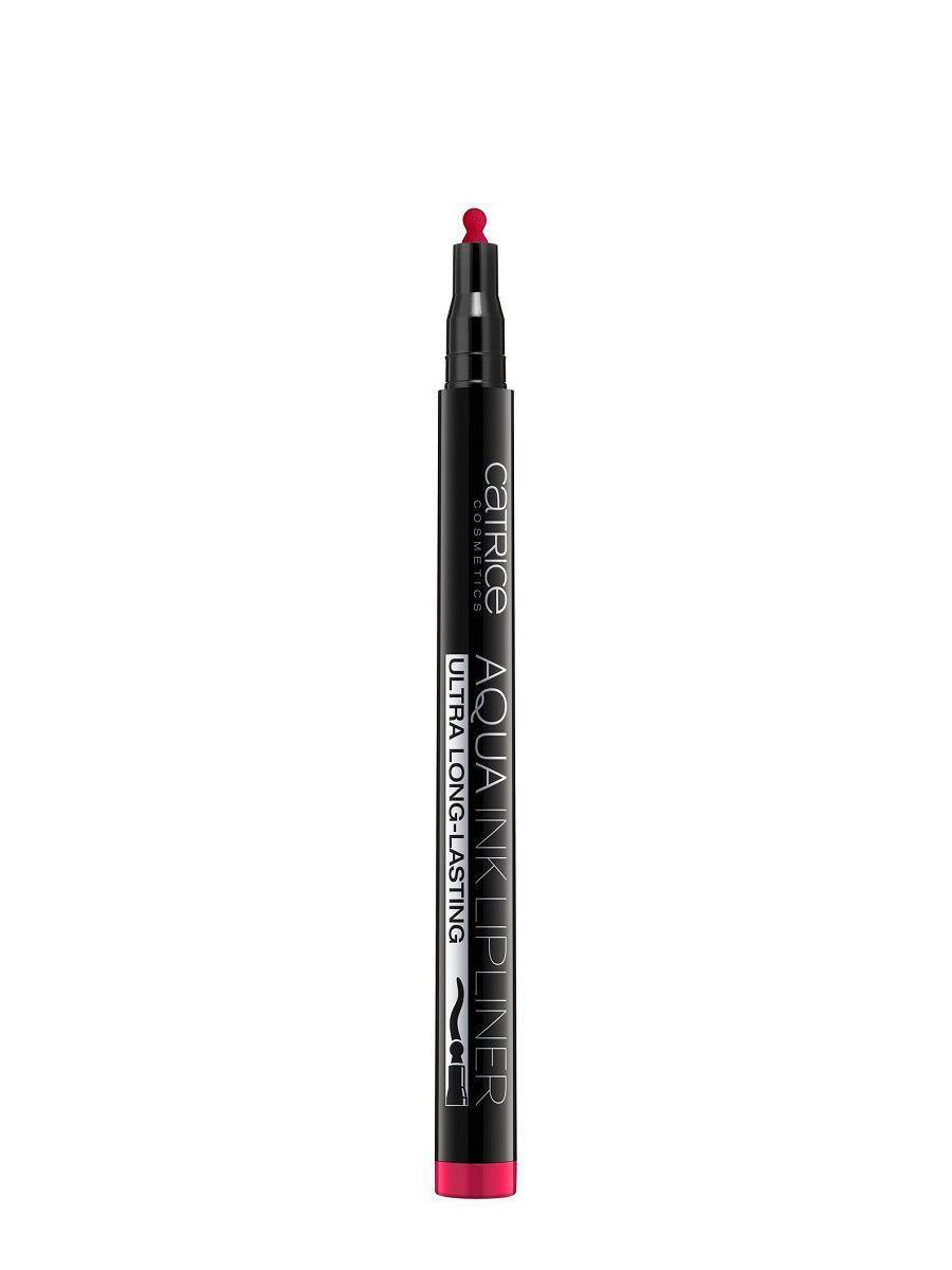 Catrice AQUA INK LIPLINER КОНТУР-ТИНТ ДЛЯ ГУБ  тон 090 Pink Or Nothing красно-розовый