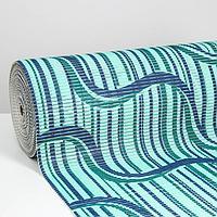 Коврик ПВХ «Изгиб волны», 0,80×15 м
