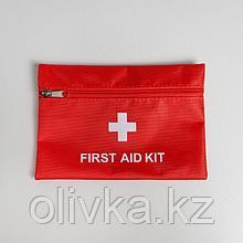 Аптечка дорожная First Aid, 20х14 см