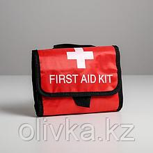 Аптечка дорожная First Aid, 25х20,5х5 см