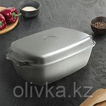 Гусятница KUKMARA, 5,5 л, с алюминиевой крышкой
