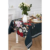 """Скатерть """"Этель"""" Flowers 110х147 см, 100% хлопок, саржа 190 г/м2"""