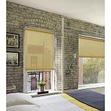 Рулонная штора «Плайн», 90 х 175 см, цвет бежевый, фото 3