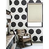 Рулонная штора «Плаза», 72 х 175 см, цвет кремовый, фото 2
