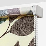 Рулонная штора «Листопад», 70 х 175 см, цвет, фото 5