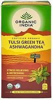 Чай Тулси c Ашвагандхой Органик (Tulsi Green Tea Ashwagandha Organic ) 25пак