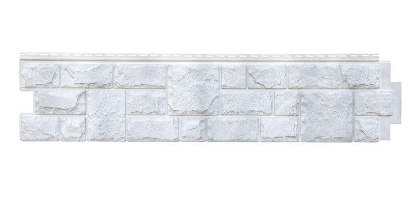 Панели фасадные Я-Фасад Екатеринский камень Серебро