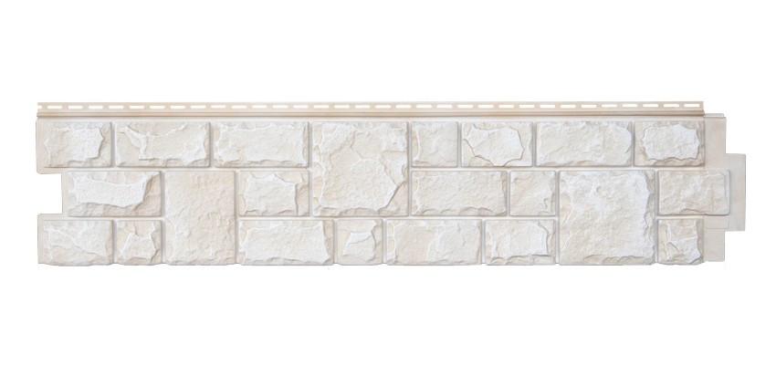 Панели фасадные Я-Фасад Екатеринский камень Слоновая кость