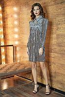 Женское осеннее нарядное платье Fantazia Mod 3811 44р.