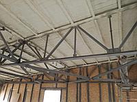 Утепление металлической крыши изнутри 1