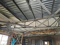 Утепление металлической крыши изнутри 2