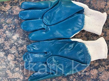 Перчатки маслобензиностойкие (МБС) с нитриловым покрытием, фото 2